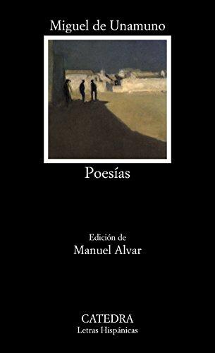Poesías (Letras Hispánicas) por Miguel de Unamuno