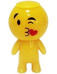 Stress Ball, Squishy Stress Squeeze jouet fantaisie Gag Jouets cracheur emoji Jaune d'oeuf Prank Squeeze Stress relief Jouets cadeaux par Fhikf