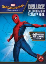 Spider-Man Homecoming Deluxe Colouring & Activity