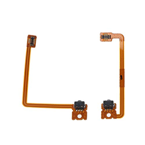 Youngy 2 Stück/Set Ersatz Reparatur L/R Schulter Trigger Button Flex Kabel für Nintendo 3DS XL LL R L Switch (Switch 3ds Xl-c Nintendo)