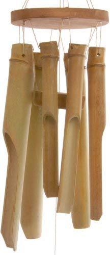 Windspiel, orientalischer Stil, Glockenspiel aus kurzen Bambusrohren -