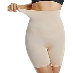 Joyshaper Culotte Femme Sculptante Gaine Amincissante Ventre Plat Invisible sous-vêtements Panty Taille Haute