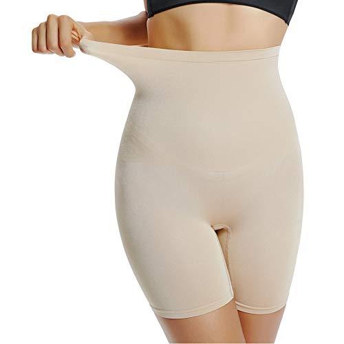 Joyshaper Damen Miederpants Figurenformende Miederhose mit Hohe Taille Hoch Elastische Shapewear Perfekt für Alle Art von Bekleidung (Hautfarbe, 3XL-Large) -