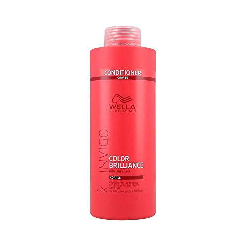 Wella INVIGO Color Brilliance Vibrant Conditioner Coarse, 1000 ml - Antioxidant Conditioner