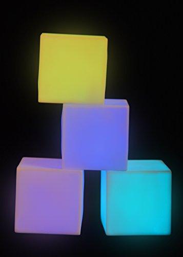 bwechsel LED Mood Cubes Nachttischlampe Glow -Neuheit Gadget ()