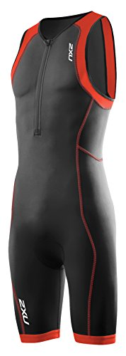 2XU Herren G:2 Active Trisuit Triathlon Einteiler blk/dtr