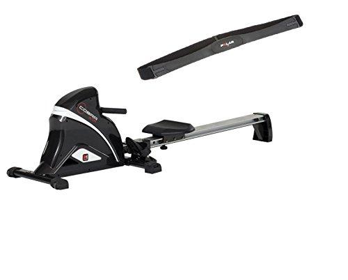 Hammer Fitness Rudergerät Rower Cobra XTR inkl. Polar Brustgurt T34,7283