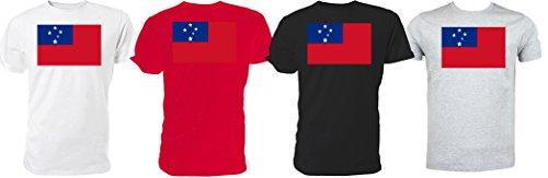 Espacio Libre En Línea Barata De Bienes Bandiera Samoan-Maglietta Rugby World Cup (bianco) Para La Venta De Pre 100% Original De Venta En Línea zMCXI2O7