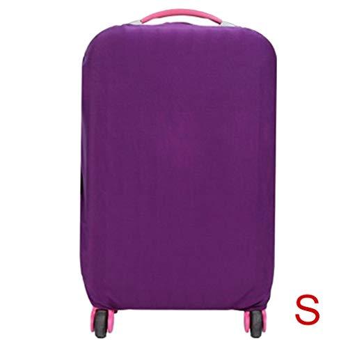 Plzlm Reise-Koffer-Staubschutz Geschäft Außen Reise Elastic Gepäck Schutz Schutzhülle Tasche