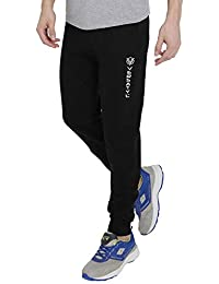 5527fbb86e4 VERSATYL Men s Streachable Cotton Slim Fit Track Pants with Zip Pockets for  Gym