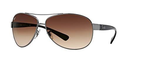 Ray-Ban RB3386 004/13 63M Gunmetal/Brown Gradient Sunglasses