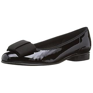 Gabor Assist-Patent, Women's Closed Toe Ballet Flats, Black (Black Patent), 8.5 UK (42.5 EU)