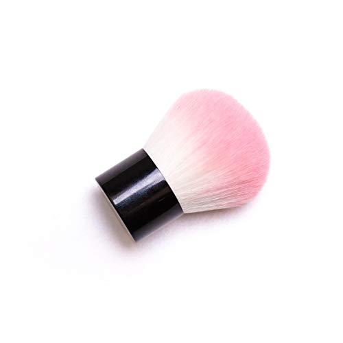 Única Cabeza de champiñones mediano Cepillo de rubor Polvo suelto a la medida Polvo de miel Maquillaje Belleza Herramientas de maquillaje for los contornos faciales, Fácil de difuminar, Lanzamiento le