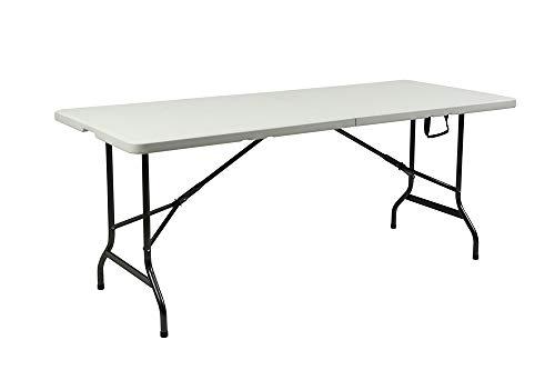 Tisch Gartentisch Klapptisch Klappbar Esstisch Campingtisch Koffertisch 180cm