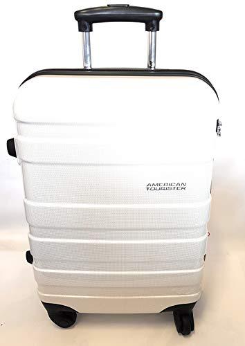 ce093c6c8 Trolley Rigido 67 cm 4 Ruote Spinner | American Tourister Pasadena |  76A304-White