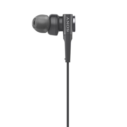 Sony MDR-XB55AP Extra Bass in-Ear Headphone with Mic (Black) Image 3