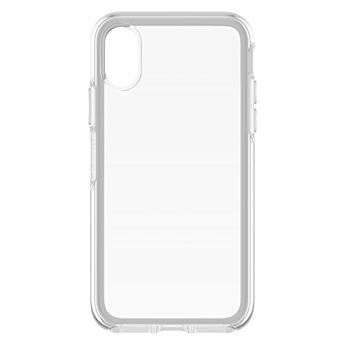 OtterBox Symmetry Clear - Funda protección transparente para iPhone X