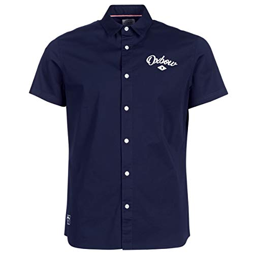 Oxbow CRETCHA Chemise Homme, Deep Marine, FR : 2XL (Taille Fabricant : XXL)