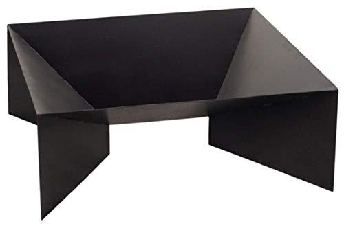 FARMCOOK Feuerschale PAN-2 schwarz lackiert in drei Größen (70x70x30 cm)
