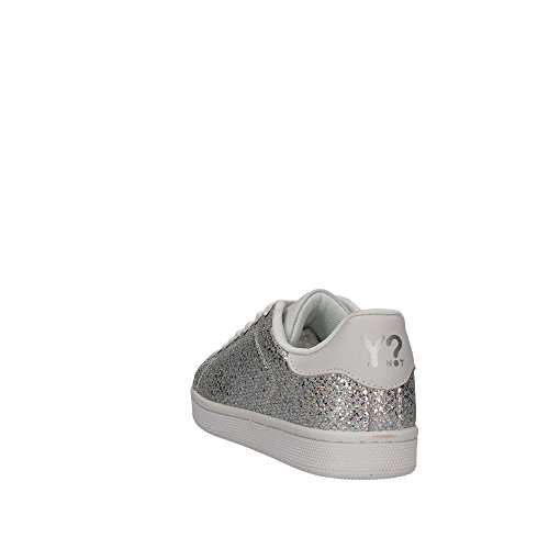 YNOT S18-SYW617 Sneakers Donna White/Silver