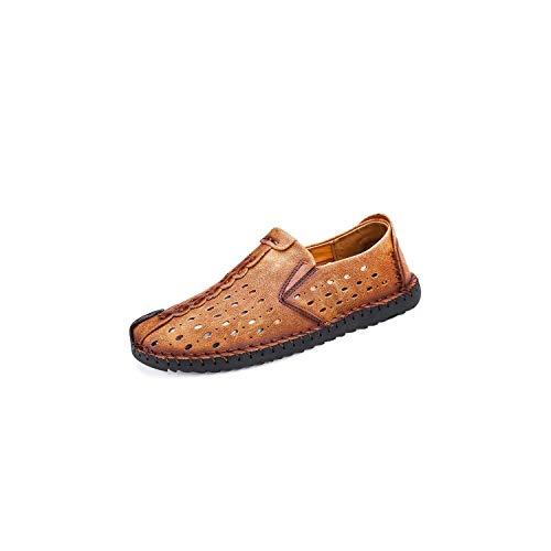 Los Hombres cómodos Zapatos Casuales Zapatos de los Holgazanes de Serraje Zapatos...