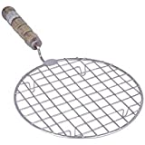 SMB Stainless Steel Roasting Grill for Chapati/Phulkas/Papad/Barbeque