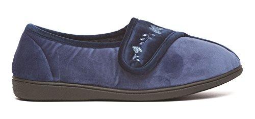 Dr Keller, Pantofole donna Navy