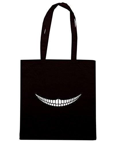 T-Shirtshock - Borsa Shopping FUN0990 cheshiregrinplttr large pet bowl Nero