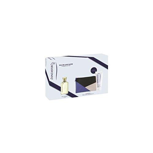 Lancaster Eau de Lancaster Giftset  Edt Spray 75Ml / Body Milk 200Ml / Beauty Bag