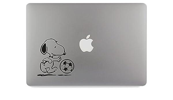 Hund am Apfel Rechts Aufkleber Skin Decal Sticker geeignet f/ür Apple MacBook und alle Anderen Laptop und Notebooks 17