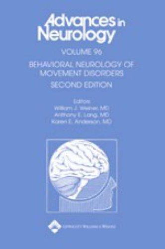 Behavioral Neurology of Movement Disorders (Advances in Neurology) by William J. Weiner (15-Jul-2005) Hardcover
