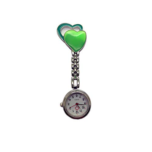Jewelry & Watches Nurse Watches Women Ladies Nurse Watch Cute Cartoon Clip-on Lapel Hanging Pendant Doctor Staff Long Performance Life