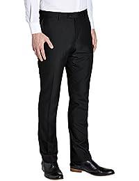 next Hombre Pantalones De Traje Esmoquin Tapered De Corte Estrecho Formal Elegante