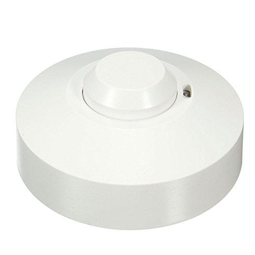 JUJIANFU-Glühbirnen 5,8 GHz HF Systerm LED Mikrowelle 360 Grad Radar Sensor Lichtschalter Deckenleuchte Belegung Körper Bewegungsmelder AC220V (Led-belegungs-sensor-licht)