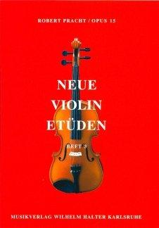 Halter Neue Violin Etüden - Heft 3 -