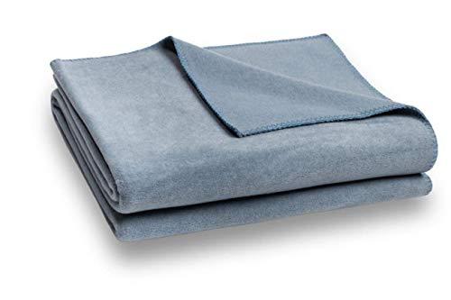 Zoeppritz Soft-Fleece Decke 110x150 Denim