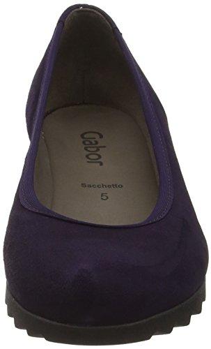 Gabor Shoes Basic, Ballerine Donna Viola (Dark-Purple 13)
