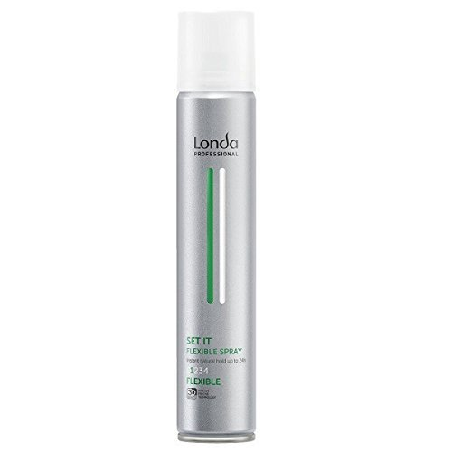 Londa Set It 500 ml Professionelles, schnell trocknendes Haarspray mit flexiblem Halt by Londa