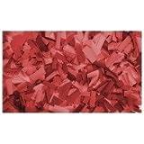Confettis Rectangle 55 x 17mm Rouges