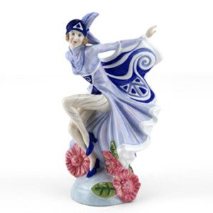 Royal Doulton Figurine Prestige Holly bleu hn4847neuf et dans une boîte