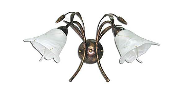 NEU Wandlampe Wandleuchte 2 flammig TOP Lampe Leuchte Ähre 181K2 Top Design