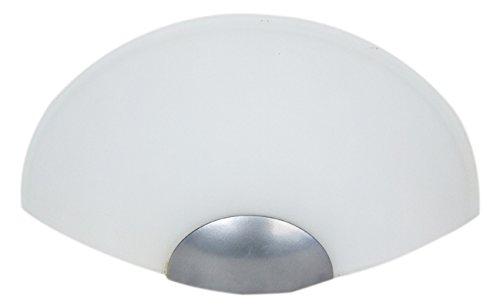 CONFORT Applique en verre centrifugé 30x15x7,5 cm Opale creme -
