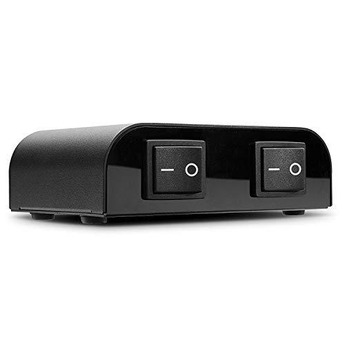 LINDY Lautsprecher-Umschalter, 2 Port, 70422