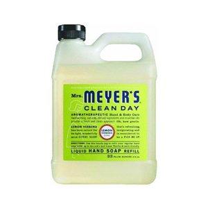 Lemon Hand Soap Refill (Mrs. Meyer's - Liquid Hand Soap Refill - Lemon Verbena - 33 lf oz - Case of 6)