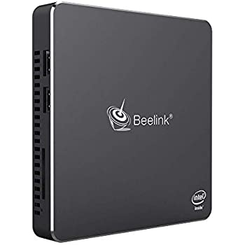 Mini Computer,Beelink T45 Fanless Mini PC Desktop 8GB DDR3/128GB SSD Ultra-Thin Windows 10 Intel Celeron J4205 Processor (up to 2.6GHz),Dual ...