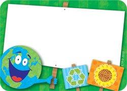 36x Go verde adesivi grandi-ideale come targhetta per nome o etichette