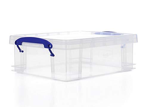 Sehr nutzige rechteckige Aufbewahrungsboxen, 0,2 l, transparent - Spielkarten Großhandel