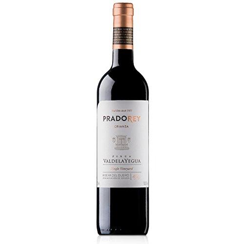 Pradorey Finca Valdelayegua - Vino Tinto - Crianza - Ribera Del Duero - 95%tempranillo, 3% Cabernet Sauvignon, 2% Merlot - Crianza Tradicional Con 12 Meses De Barrica Y 3 Meses En Conos De Nevers - 1 Botella - 0,75 L