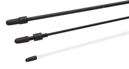 Acryl Endkappen (Invento 138102 - Acrylstab inklusive Endkappe, Durchmesser 4 mm, Länge: 50 cm, transparent)