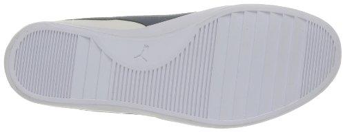 Puma Elsu Bluchertoe Canvas 356213 Unisex-Erwachsene Sneaker Weiß (white-dark denim 01)